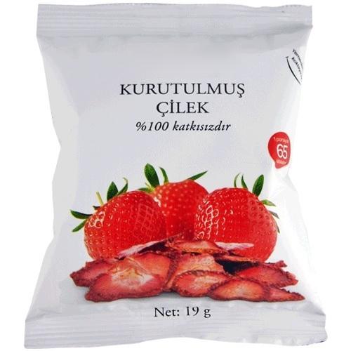 Getrocknete-Erdbeeren
