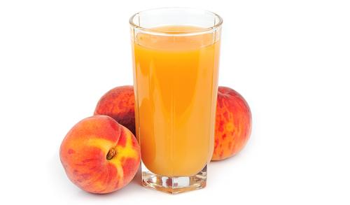 peach-juice